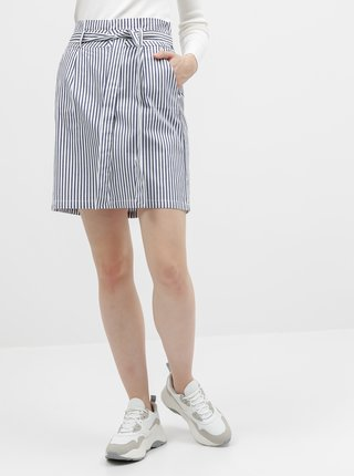 Bielo-modrá pruhovaná sukňa Vero Moda Eva