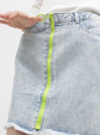 Modrá džínová sukně ONLY-Emily