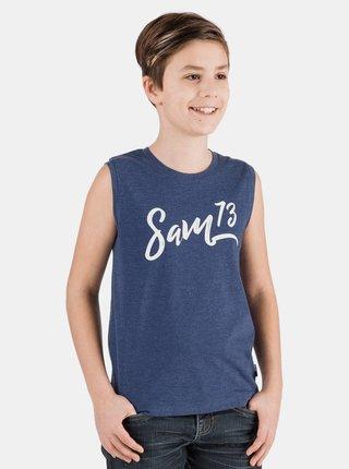 Tmavomodré chlapčenské tielko SAM 73