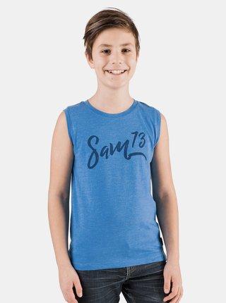 Modré chlapčenské tielko SAM 73