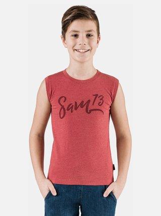 Červené chlapčenské tielko SAM 73
