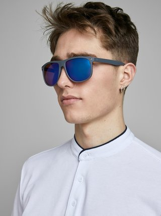 Šedé slnečné okuliare Jack & Jones