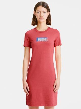 Růžové šaty Puma