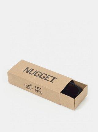 Hnedé vzorované slnečné okuliare NUGGET Whip