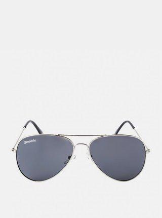 Pánské sluneční brýle ve stříbrné barvě Meatfly