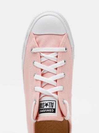 Růžové dámské tenisky Converse Chuck Taylor All Star Dainty