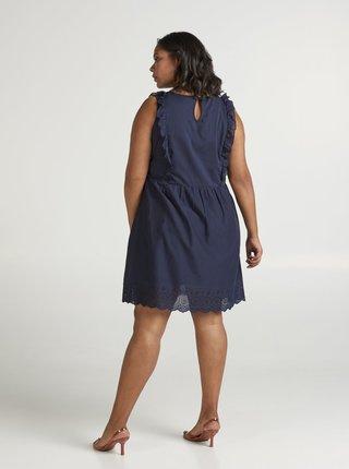 Tmavě modré šaty Zizzi