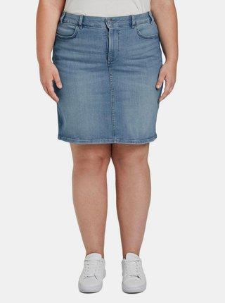 Modrá dámska rifľová sukňa My True Me Tom Tailor