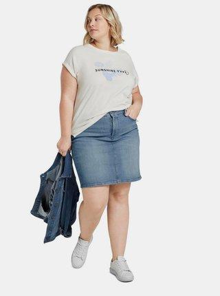 Modrá dámská džínová sukně My True Me Tom Tailor