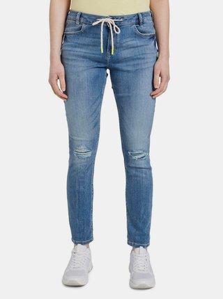 Modré dámské slim fit džíny Tom Tailor Denim