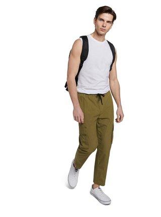 Kaki pánske nohavice Tom Tailor Denim