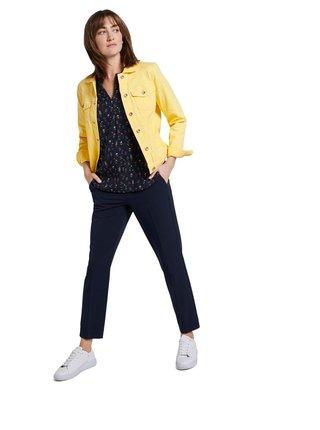 Žlutá dámská džínová bunda Tom Tailor
