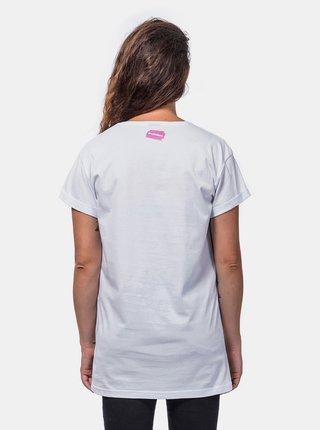 Bílé dámské tričko Horsefeathers Blade