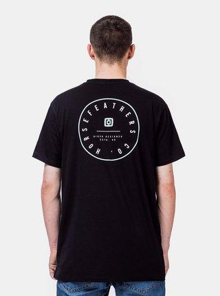 Černé pánské tričko Horsefeathers Tart