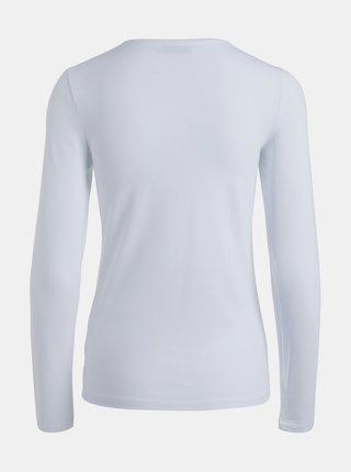 Bílé basic tričko Pieces Sirene