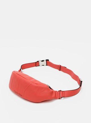 Červená dámska ľadvinka Calvin Klein Jeans