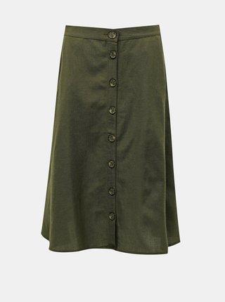 Zelená sukňa ONLY Viva