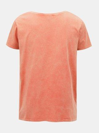 Růžové tričko ONLY CARMAKOMA Mine
