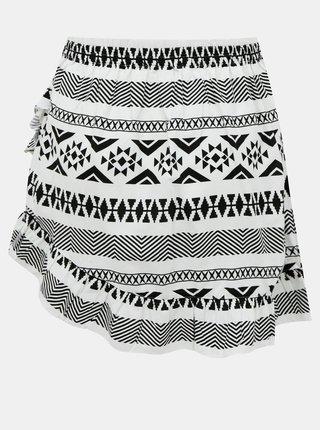 Čierno-biela vzorovaná sukňa ONLY Lucca