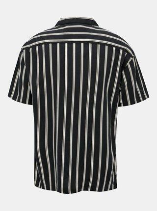 Černá pruhovaná košile Jack & Jones Blastripe