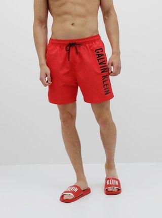 Červené pánské plavky Calvin Klein Underwear