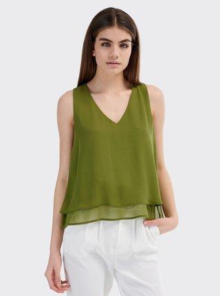 Zelený dámsky top Alcott
