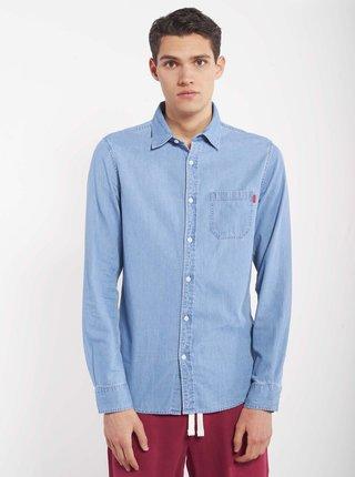 Modrá pánská džínová košile Alcott