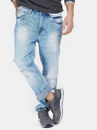 Světle modré pánské slim fit džíny Alcott