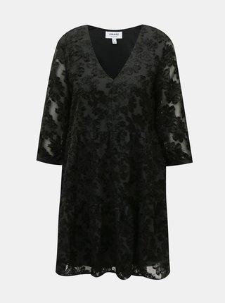 Čierne šaty AWARE by VERO MODA Laura