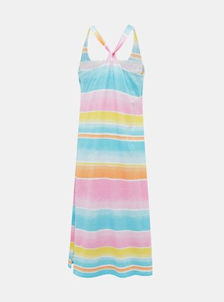 Ružovo-modrá dámska nočná košeľa Lauren Ralph Lauren