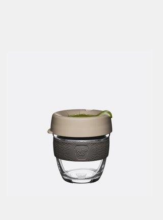 Béžový sklenený cestovný hrnček KeepCup Original small 227 ml