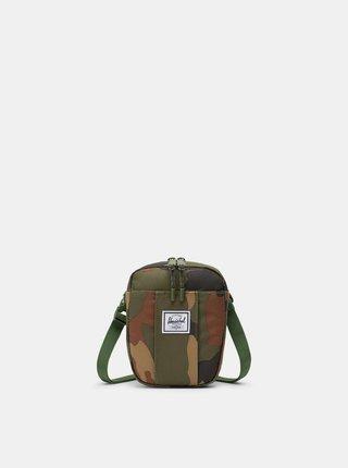 Zelená maskáčová crossbody taška Herschel Supply