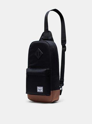 Čierna crossbody taška Herschel Supply