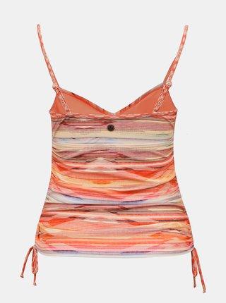 Oranžový horní díl plavek prAna Moorea