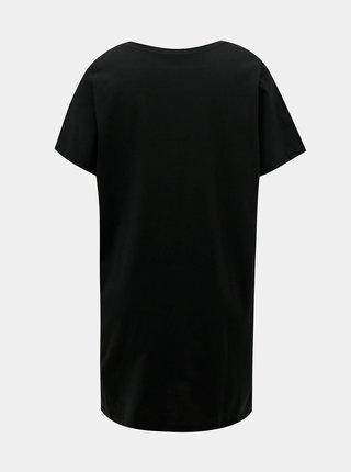 Černé šaty s potiskem Noisy May Fly