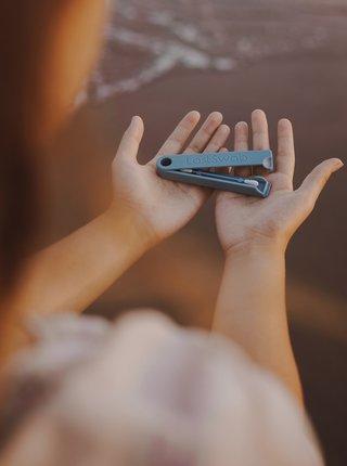 Modrá znovupoužiteľná tyčinka do uší LastSwab