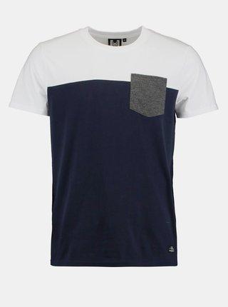 Bílo-modré pánské tričko Haily´s Kyle
