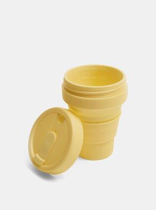 Žltý cestovný skladací hrnček Stojo 355 ml