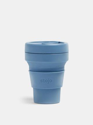 Modrý cestovní skládací hrnek Stojo Pocket 355 ml