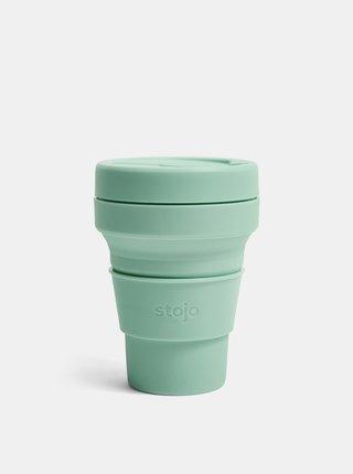Zelený cestovní skládací hrnek Stojo Pocket 355 ml