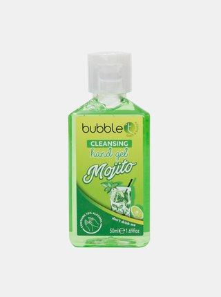 Antibakteriální gel na ruce (70% alkoholu) Bubble T Cosmetics Mojito 50 ml