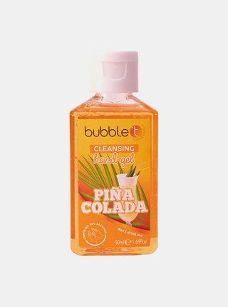 Antibakteriální gel na ruce (70% alkoholu) Bubble T Cosmetics Pina Colada 50 ml