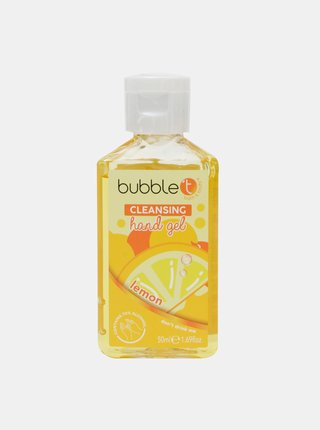 Antibakteriálny gél na ruky (70% alkoholu) Bubble T Cosmetics Lemon 50 ml