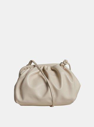 Krémová malá kabelka Object