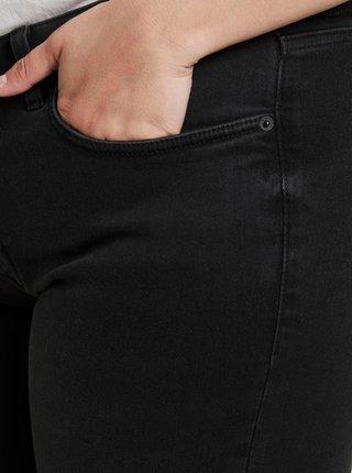 Čierne rifľové kraťasy My True Me Tom Tailor
