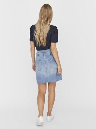 Světle modrá džínová sukně VERO MODA Tamara