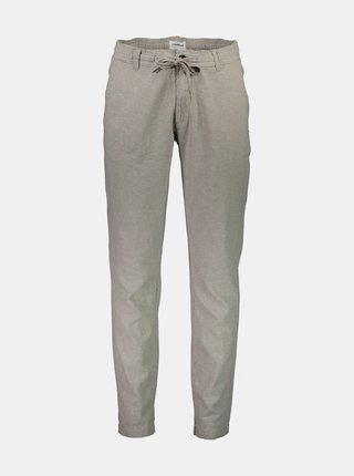 Šedé ľanové nohavice Lindbergh