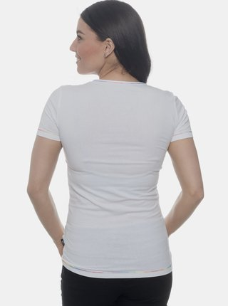 Biele dámske tričko SAM 73