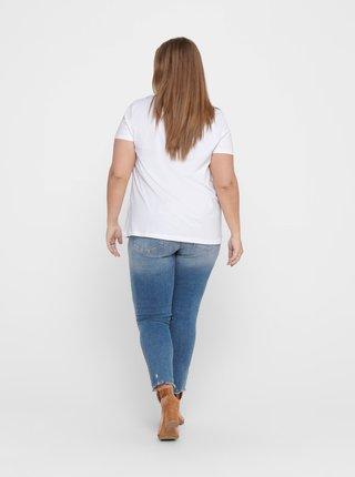 Bílé tričko ONLY CARMAKOMA Reli