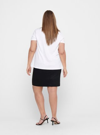 Biele tričko ONLY CARMAKOMA Reli